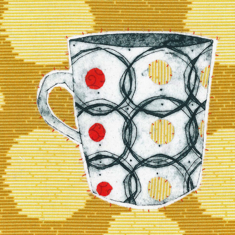 Ruth Blackford - textile artist, illustrator, printmaker London