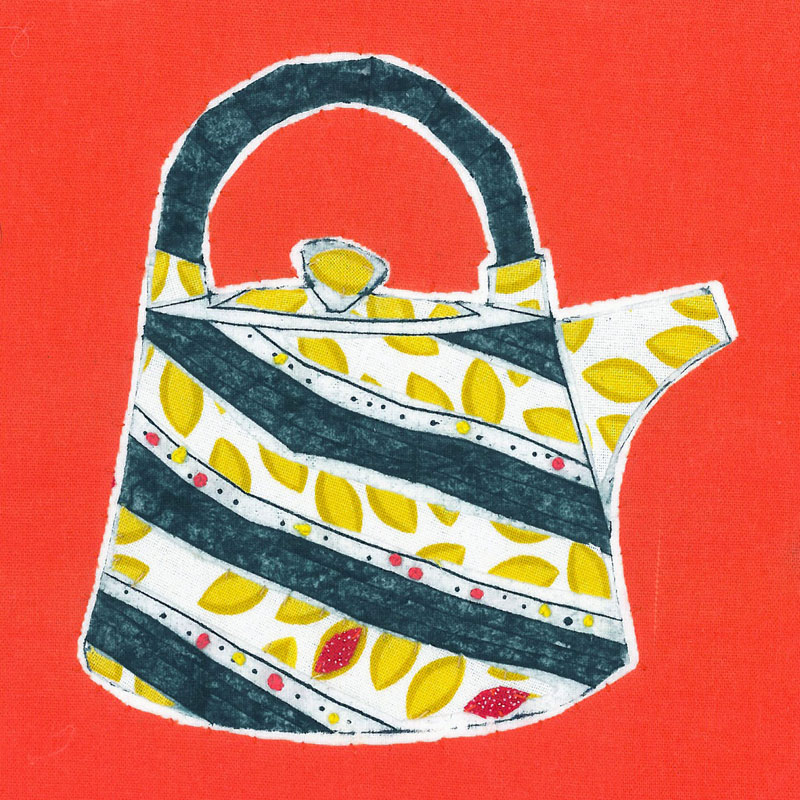 Ruth Blackford - textile artist, illustrator, printmaker London