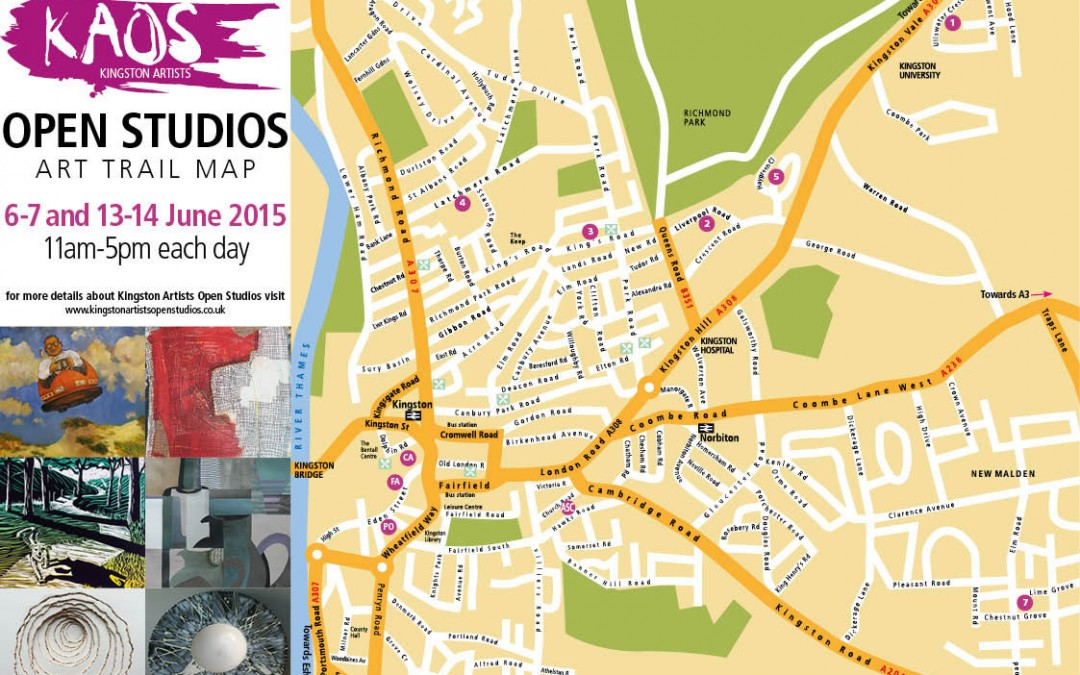 KINGSTON ARTISTS OPEN STUDIOS 2015