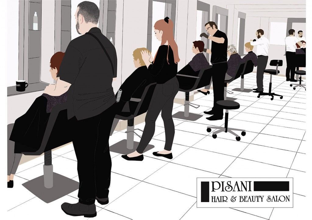 Pisani Hair Salon by Ruth Blackford
