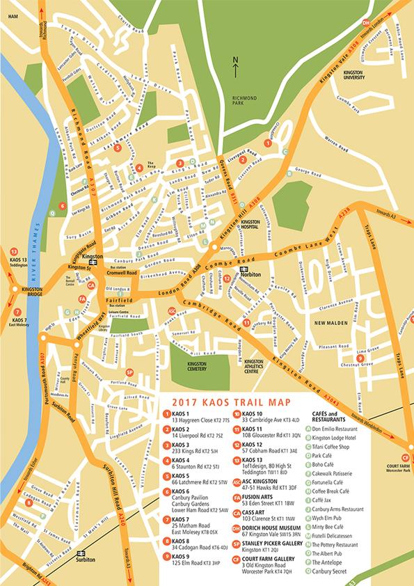 KAOS 21017 TRAIL MAP