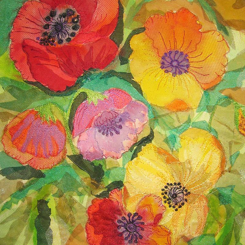 Ruth Blackford Embroidery Workshop Flora