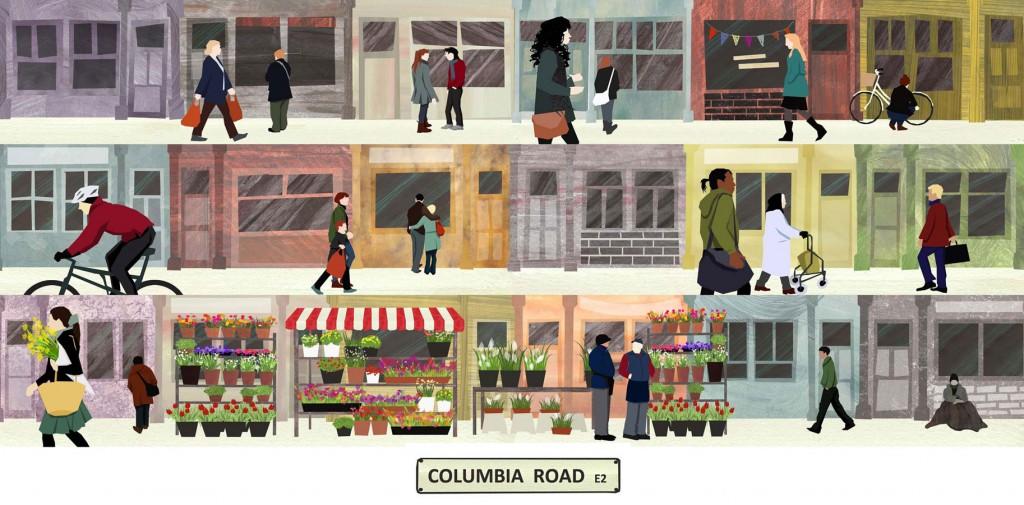 Columbia Road, E2