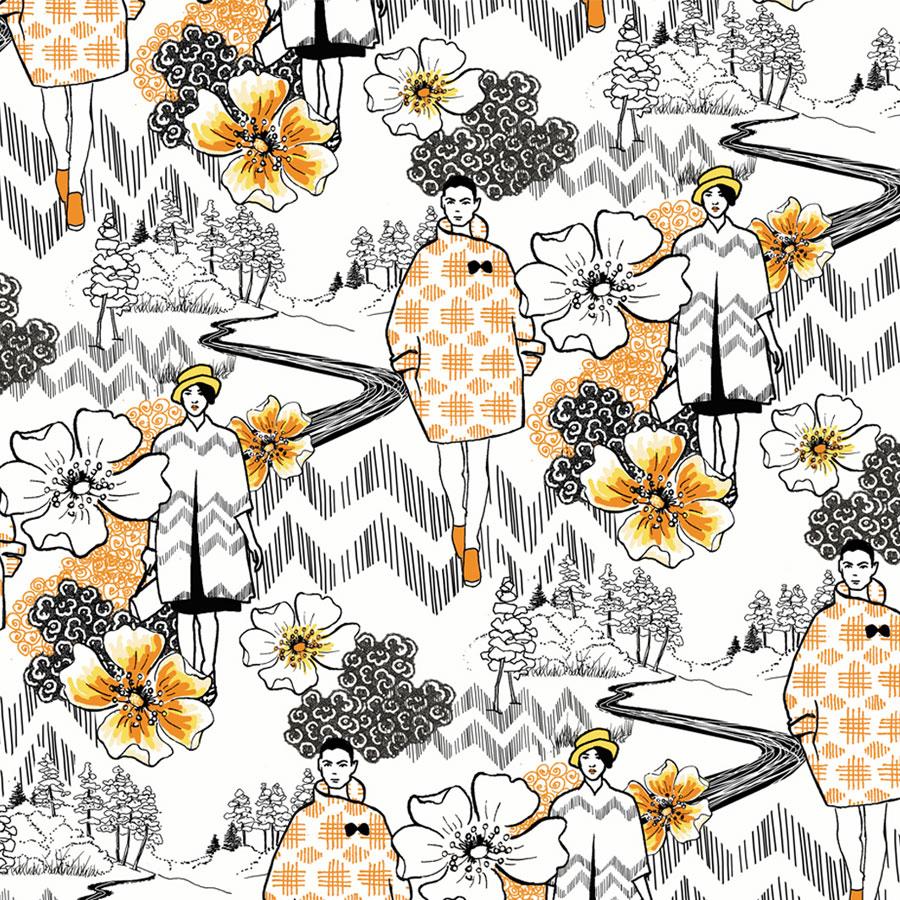 Printed textiles for fashion 1