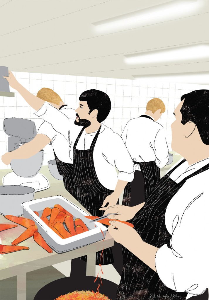 A SHIFT OF CHEFS