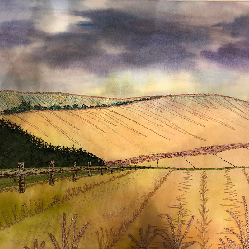 Ruth Blackford Embroidery Workshop Landscape