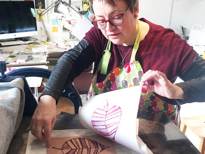 Ruth Blackford Printing Workshops