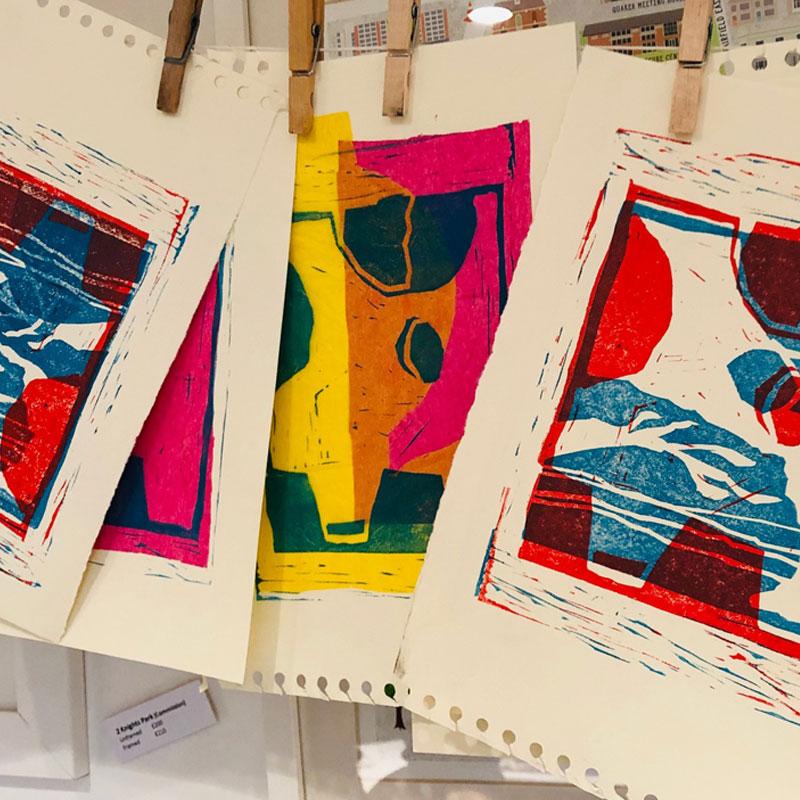 Ruth Blackford - Linoprinting Workshop 1 Day